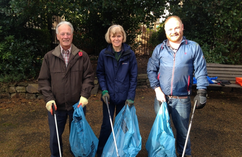 Oliver Johnstone Litter Pick