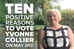10 Reasons to Vote Yvonne Collier