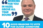 10 Reasons to Vote Cllr Oliver Johnstone