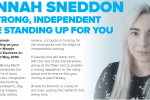 Hannah Sneddon for Marple North